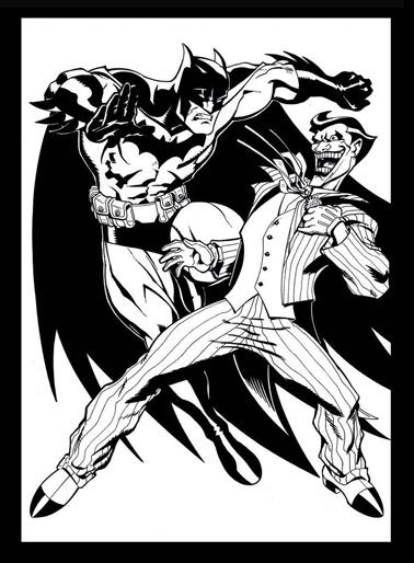 Desenhos para imprimir e colorir do Batman - Blogodorium