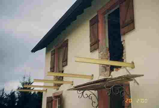 Renovation de la maison en alsace pr s de mulhouse - Comment construire un balcon ...